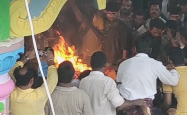 Kodela Siva Prasada Rao Cremation Complete At Narasaraopet - Sakshi