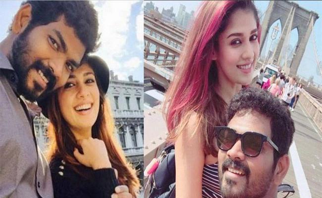 Nayanthara Grandly Celebrates Boyfriend Vignesh Shivan Birthday - Sakshi