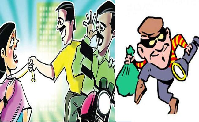 Increasing Theft Incidents In Nellore - Sakshi