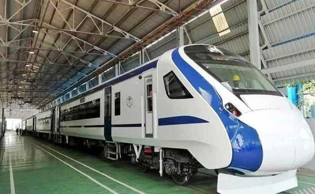Delhi Katra Vande Bharat Train To Start Maiden Journey During Navratras - Sakshi