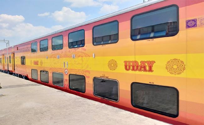 Uday Express To Run From September 26 In Visakhapatnam - Sakshi