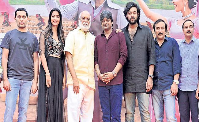 Valmiki Movie Velluvachi Godaramma Song Promo Release - Sakshi