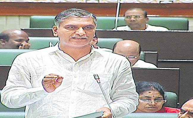 Harishrao Responds In Assembly On Job Notifications In Telangana - Sakshi