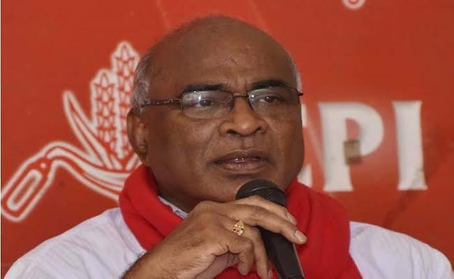 CPI Chada Venkat Reddy Slams TRS Government - Sakshi