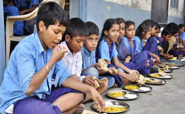 AP Govt Increased Conversion Cost Of Midday Meals In Schools - Sakshi