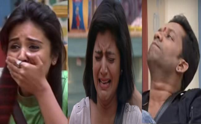 Bigg Boss 3 Telugu Housemates In Tears On Seeing Family members - Sakshi