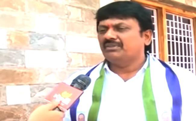 Uma Sankar Slams Ayyanna Patrudu In Vishakapatnam - Sakshi
