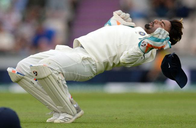 Rishabh Pant New Record in Tests - Sakshi