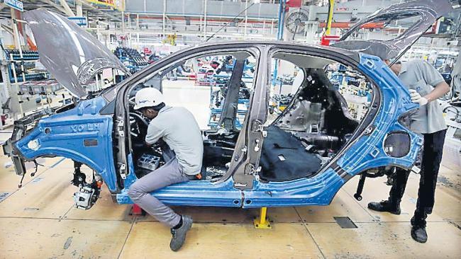 Passenger vehicles sales down - Sakshi