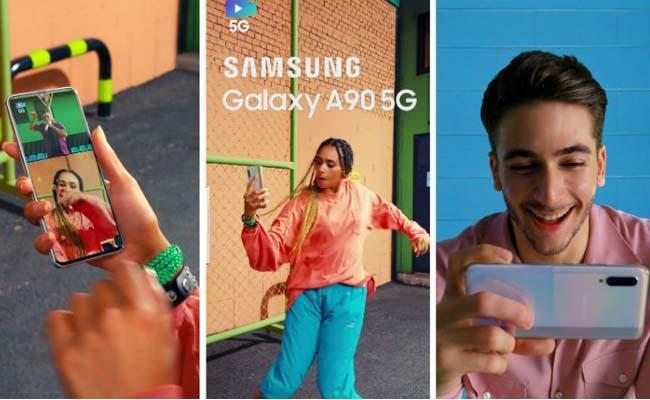 Samsung to launch mid-range 5G phone Report - Sakshi