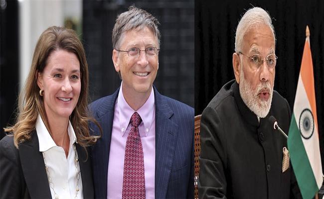 Modi Will Be Honoured By Melinda Gates Foundation For Swachh Bharat - Sakshi