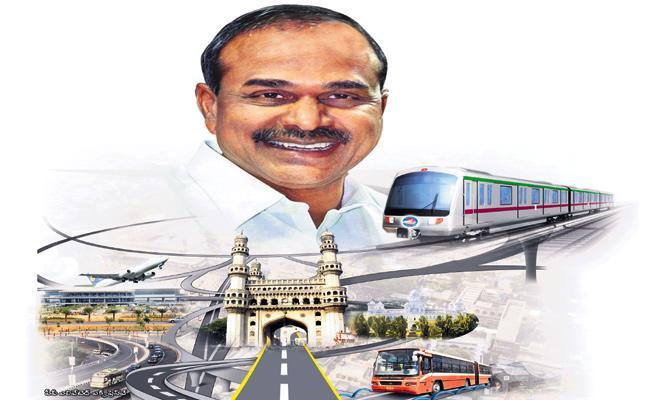YS Rajasekhara Reddy Special Story on Hyderabad Development - Sakshi