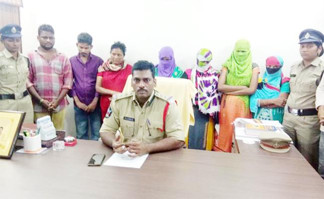 Police Bust Prostitution Racket In Chirala - Sakshi