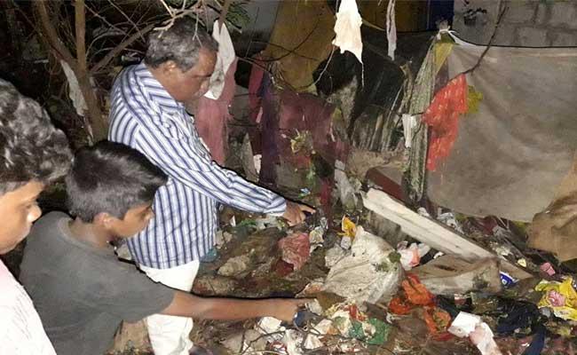 Dead Baby Found In Vijayanagaram - Sakshi