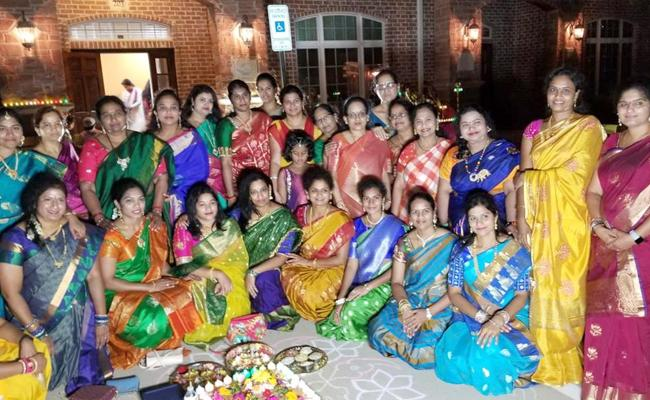 TPAD Begin Bathukamma Celebrations With Boddemma Pooja - Sakshi