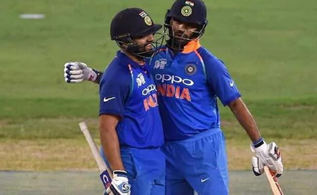 Dhawan Introduced Rohit And Jadeja As Loving And Caring Fathers - Sakshi