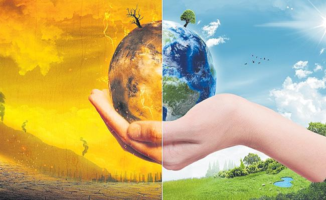 Dileep Reddy Article On Climate Change - Sakshi