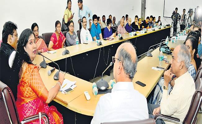 Round Table Conference About Dengue - Sakshi