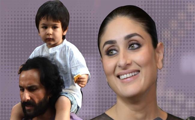 Kareena Kapoor Khan Imitates Her Son Taimur Ali Khan - Sakshi