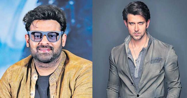 Prabhas next movie with Hrithik Roshan And Deepika Padukone - Sakshi