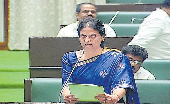 Minister Sabitha Indra Reddy Comments On Contract Employees Regularization - Sakshi