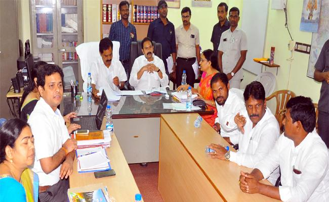 Ministers Review of Sources of Income - Sakshi