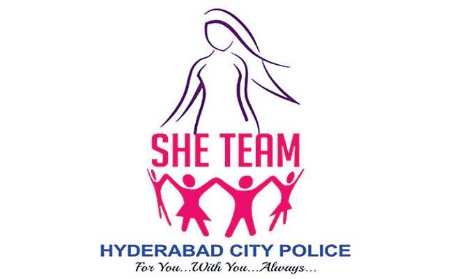 Special Story On Hyderabad She Teams  - Sakshi