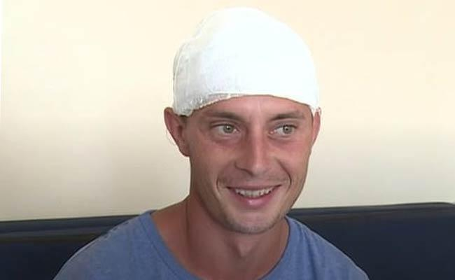 Bullet Stuck In The Romanian Mans Head - Sakshi