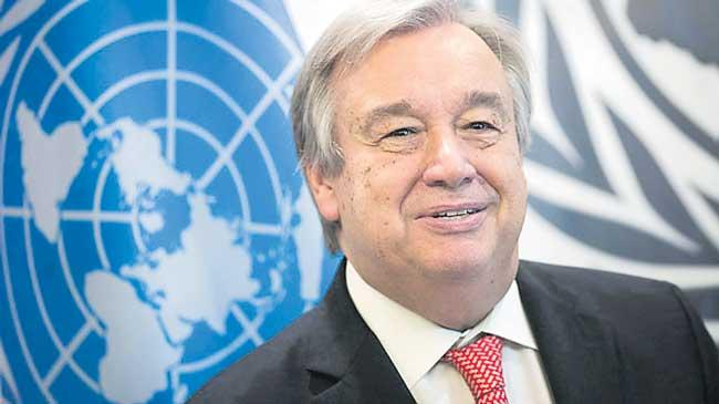UN Chief Could Discuss Kashmir Issue At UN General Assembly - Sakshi