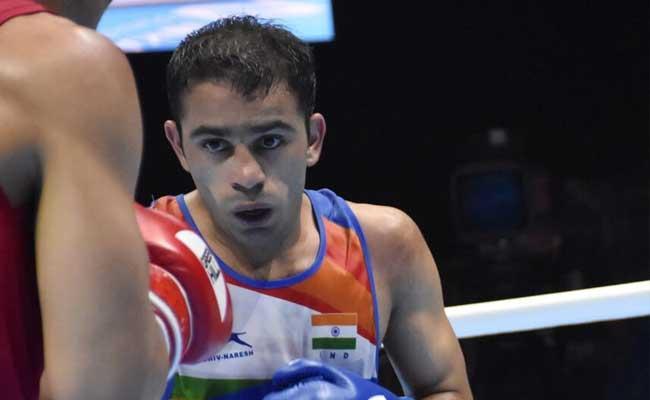 Amit Panghal Loses Final World Boxing Championship - Sakshi