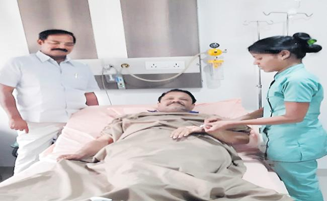 MLC Farooq Hussain Joins In Hospital With Dengue Fever - Sakshi
