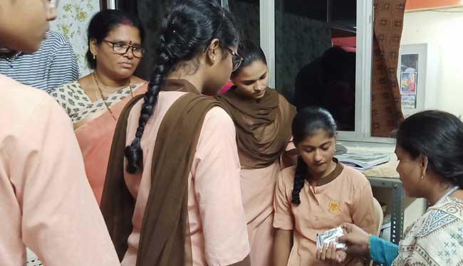 70 Students Sick With Food Poison At Visakha Sri Chaitanya Hostel - Sakshi