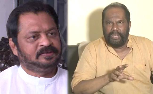 Former MP Pandula Ravindra Fires on Harshakumar - Sakshi