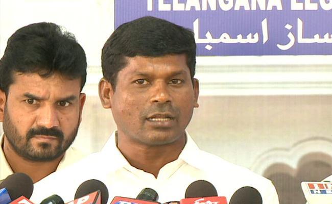 MLA Guvvala Balaraju Says Center Did Nothing For SC Classification - Sakshi