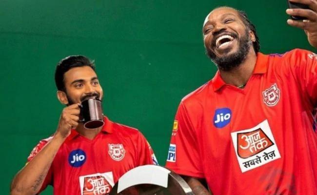 KL Rahul Takes Cheeky Dig At Chris Gayle - Sakshi
