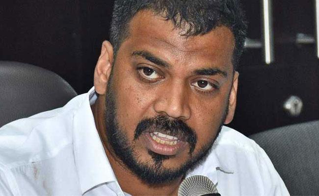 Minister Anil Kumar Yadav Fires On Andhra Jyothi paper - Sakshi