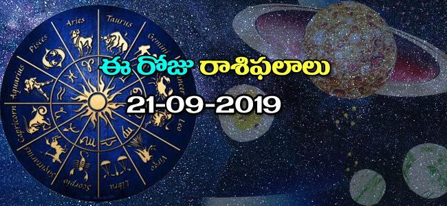 Daily Horoscope in Telugu (21-09-2019) - Sakshi