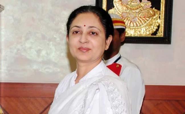 Govt Accepts Resignation of Madras HC CJ V K Tahilramani - Sakshi