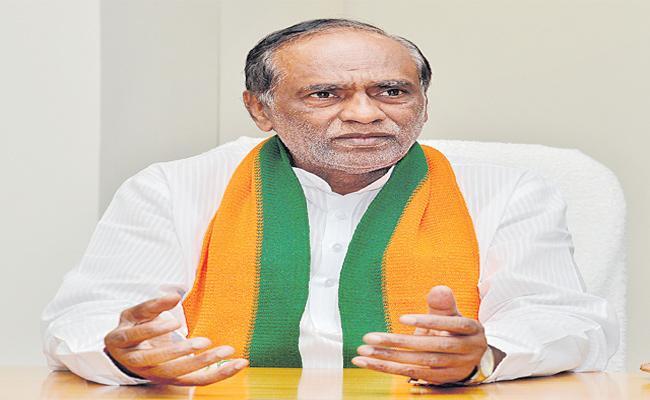 Laxman Fires On TRS Government - Sakshi