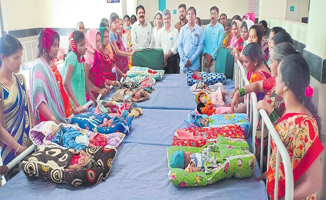 17 deliveries within 24 hours in jangaon Government Hospital - Sakshi