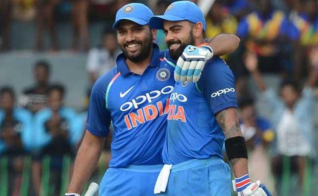 Dhawan Interesting Comments On While Batting With Rohit And Kohli - Sakshi