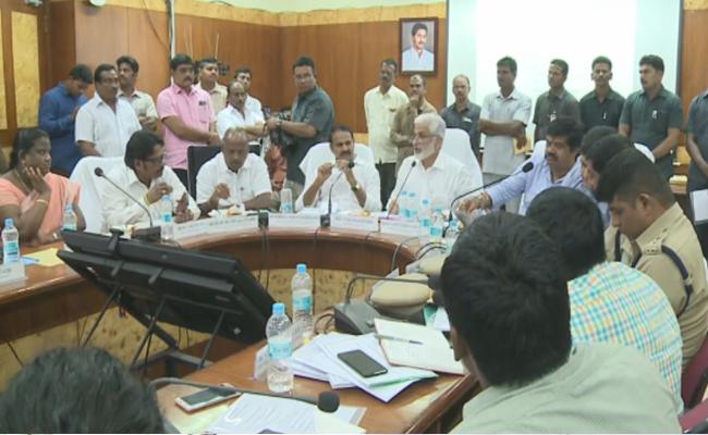 MP Vijayasai Reddy Review Meeting With Several Departments In Vizag - Sakshi
