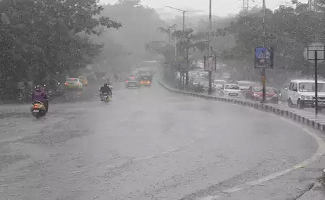Hyderabad Weather Department Issues Rainfall Warning Most Areas  - Sakshi