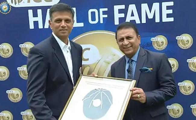 ICC Corrects Mistake After Being Trolled For Dravid Gaffe - Sakshi