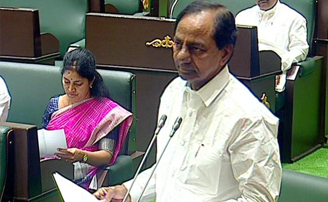 Telangana Assembly Sessions, Ressesion Due To Modi Govt - Sakshi
