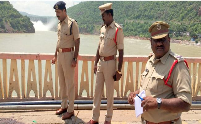 Blood Marks Found On Krishna Bridge Near Acchampet - Sakshi