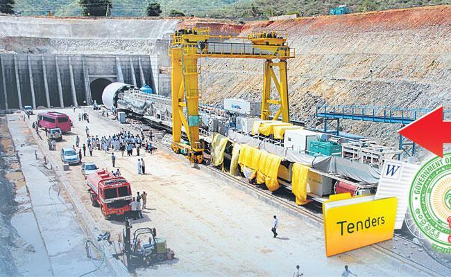 YS Jagan Mohan Reddy Calls Reverse Tenders For Veligonda Phase2  - Sakshi