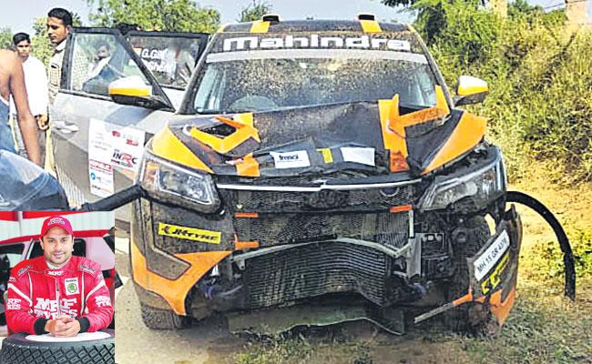 Gaurav Gill Car Accident in Rajasthan Three People are Dead - Sakshi