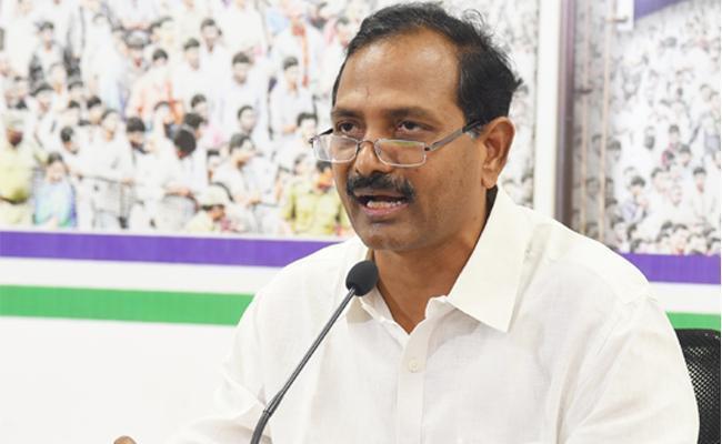 MLA Gopireddy Srinivasa Reddy Fires On Chandrababu - Sakshi
