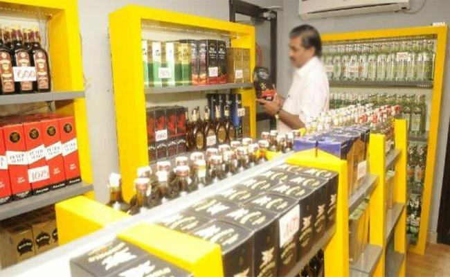 Illegal Liquor Sales In Warangal - Sakshi